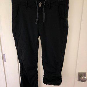 Prana convertible nylon/elastane pants sz 10 short